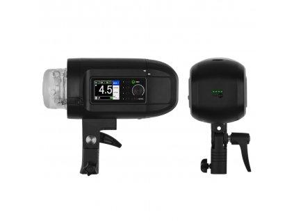 Digitálny batériový blesk HD 400 TTL, HSS - Sony, Canon, Nikon, Fuji, Olympus, Lumix + kufor
