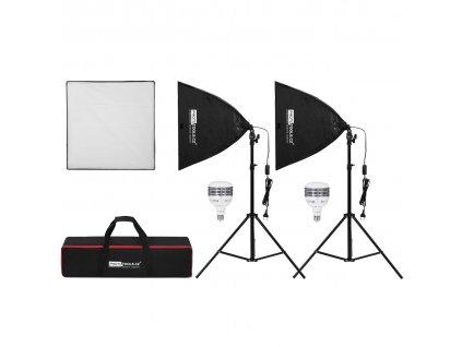 2x Daylight ETL-50cm, trvalé svetlo s LED žiarovkou