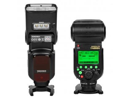 Externý systémový blesk s LED prisvietením YONGNUO YN968N Nikon, GN60