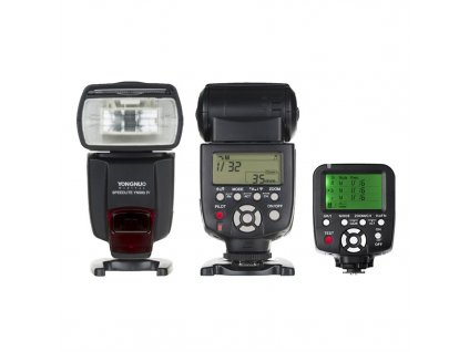 Externý systémový blesk YONGNUO YN560-IV, GN58 + riadiaca jednotka YN560-TX Nikon