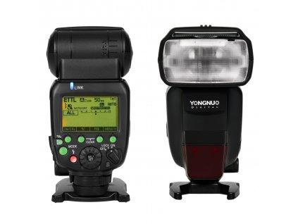 Externý systémový blesk YONGNUO YN600EX-RT II Canon, GN60