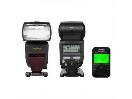 Externý systémový blesk YONGNUO YN685 Nikon, GN60 + riadiaca jednotka YN-622N-TX