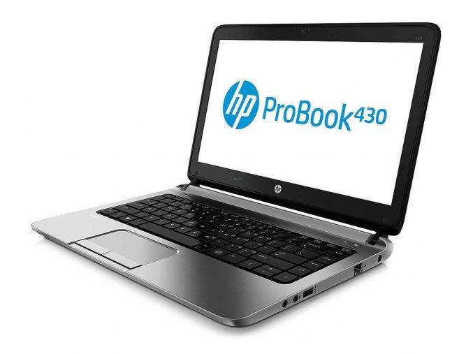 """HP ProBook 430 G1 - i5, 4GB RAM, 320GB HDD, 13,3""""  + servisní prohlídka a přepastování po roce v hodnotě 700kč zdarma"""