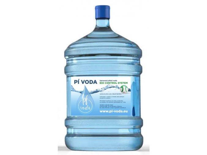Pí-voda v barelu 19 litrů 1 kus s dovozem (cena bez vratného obalu)
