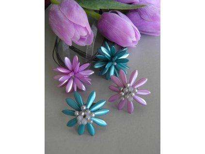 Prstýnek perleťová květina