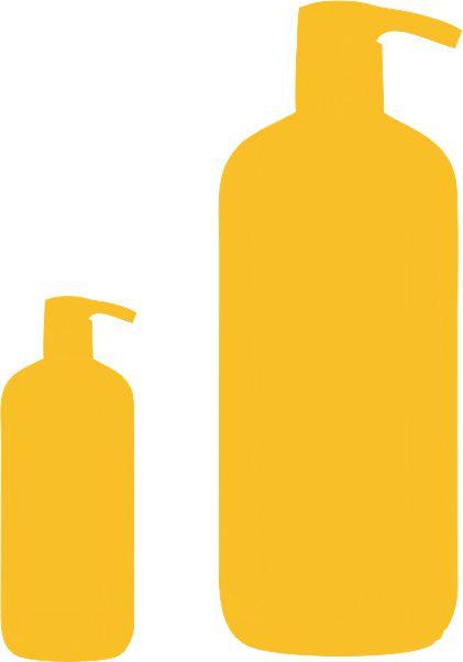 Šampony a kosmetika