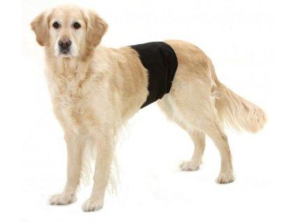 Inkontinencni kalhoty pro psy cerne 40x10cm 100520171413599316