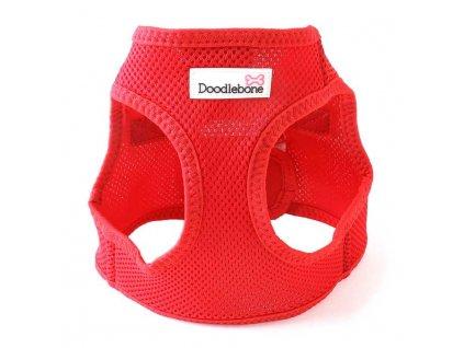 Postroj Doodlebone Airmesh Snappy Red velikost S 0706201710222320871