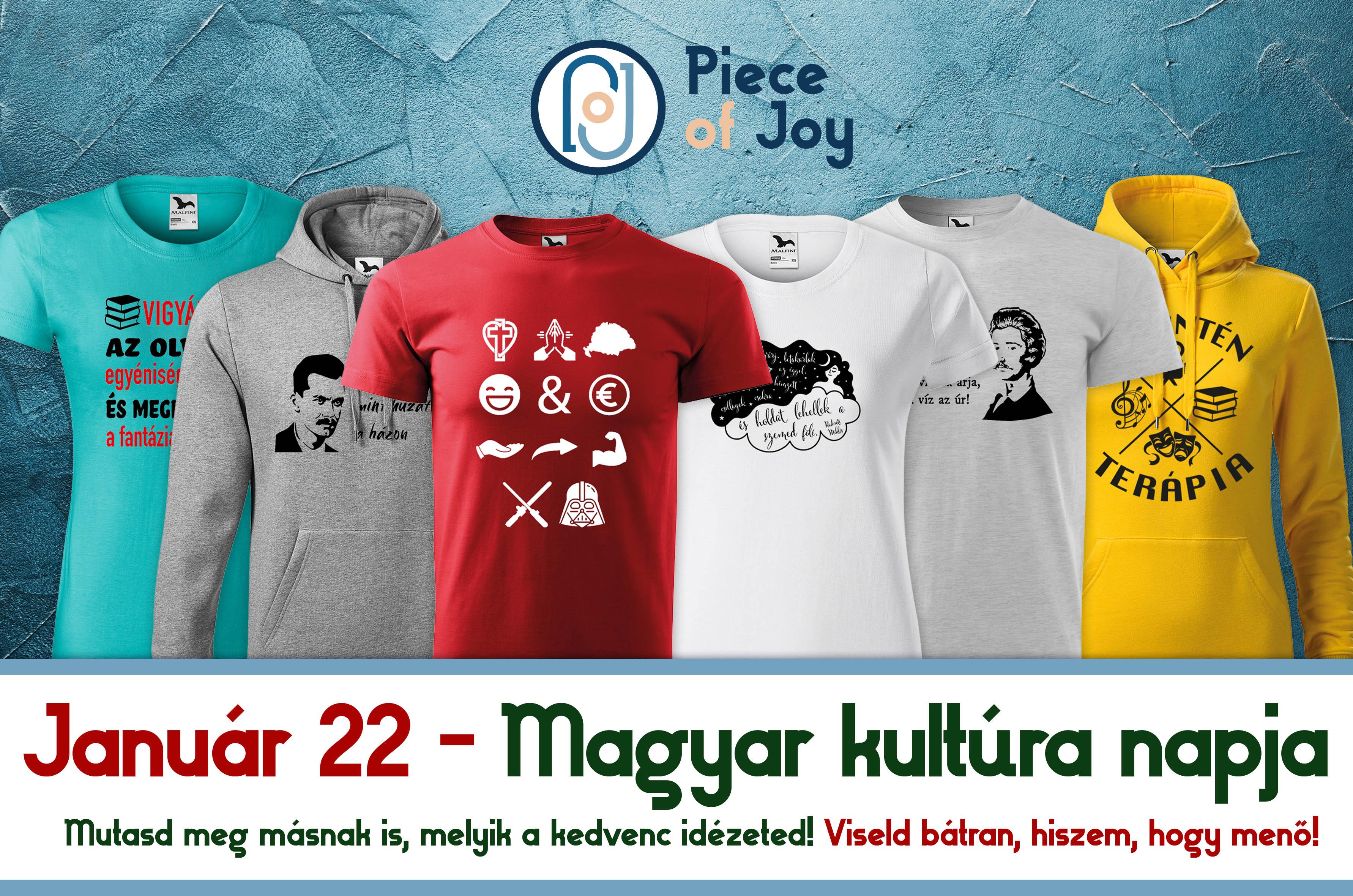 pólók a magyar kultúra napjára
