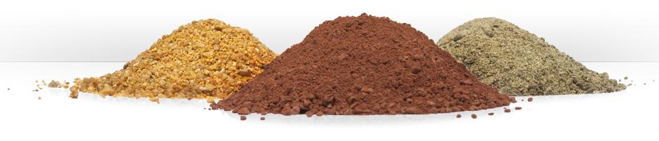 Přírodní a minerální pigmenty