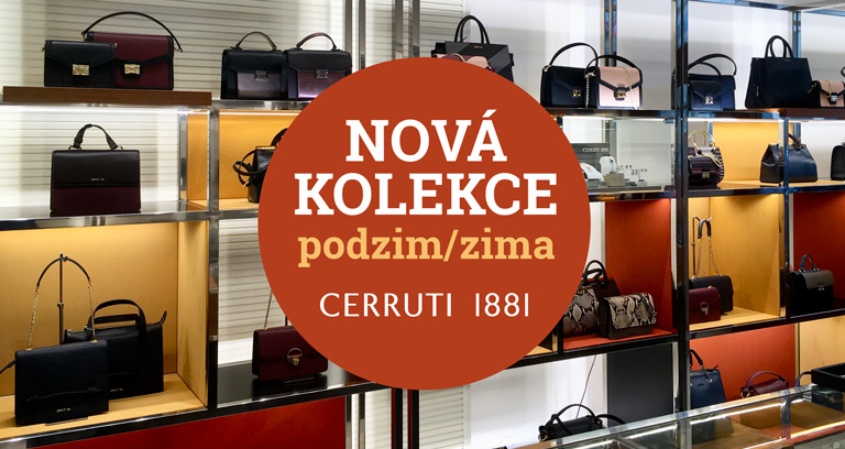 Nová kolekce Cerruti 1881 podzim/zima!