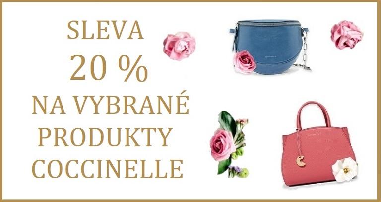 20% sleva na vybrané kabelky Coccinelle