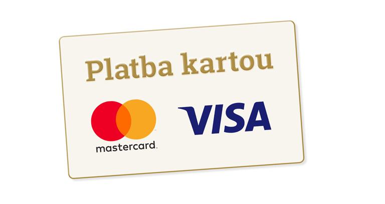 Nově můžete platit kartou