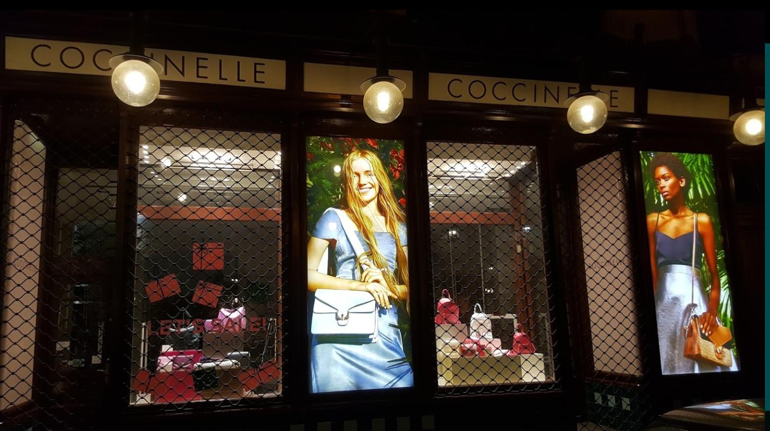 kamenný obchod Coccinelle Praha 4