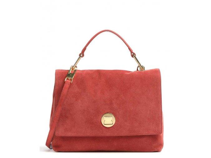 coccinelle liya suede handtasche rot e1gd1180101 r46 31
