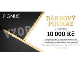 PIGNUS darkovy poukaz vzor 10000