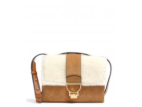 coccinelle arlettis shearling crossbody bag brown e1gfa120701 800 31