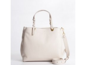 coccinelle e1h60180201 lambskin white front