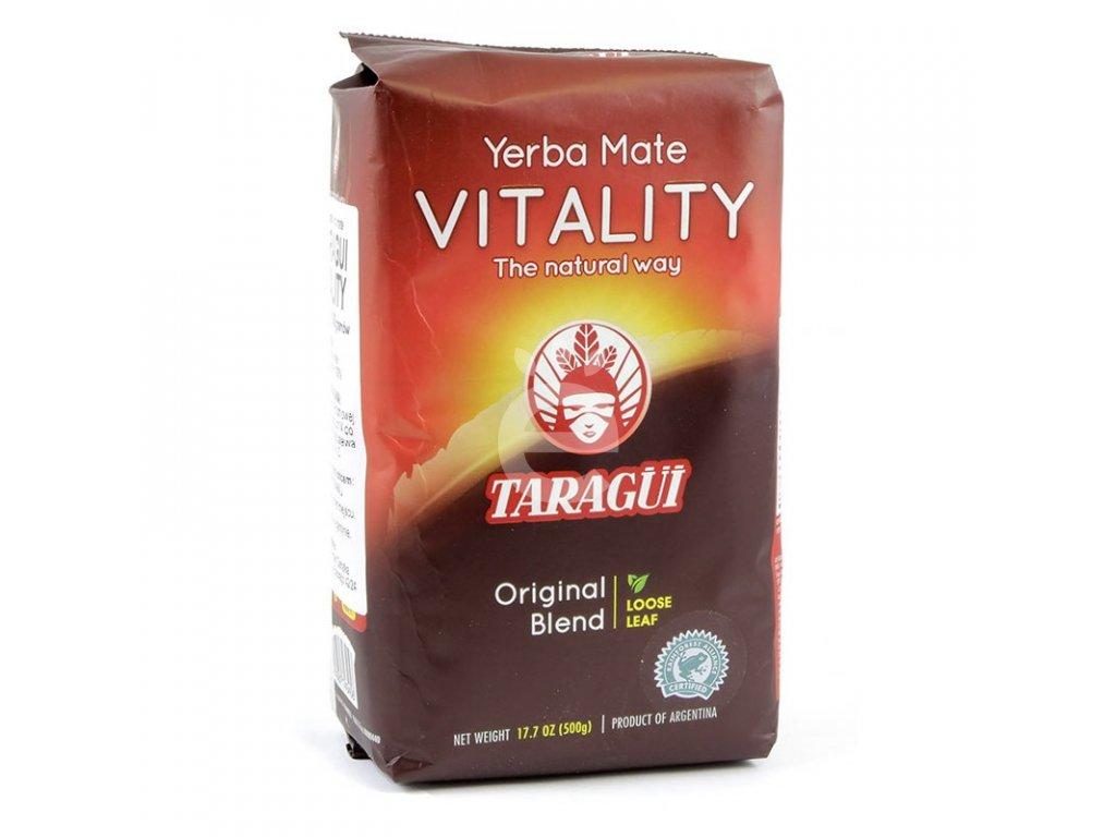 Yerba Maté / Taragui Vitality despalada - 500 g