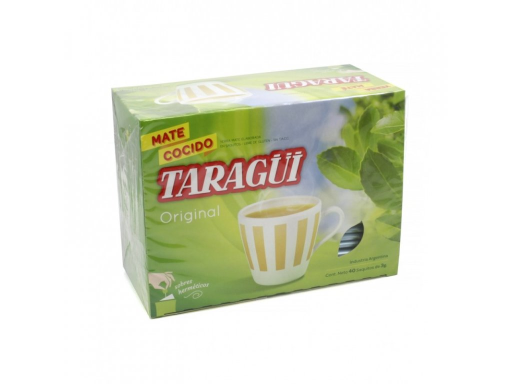 Yerba Maté / Taragui - Mate Cocido sáčkové - 40 Ks