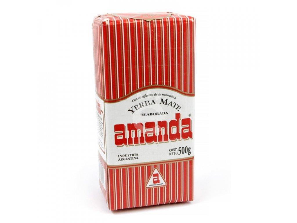 Yerba Maté / Amanda klasik - Lisované - 500 g