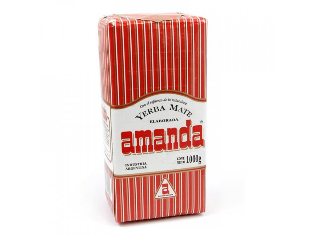Yerba Maté / Amanda klasik - Lisované - 1000 g