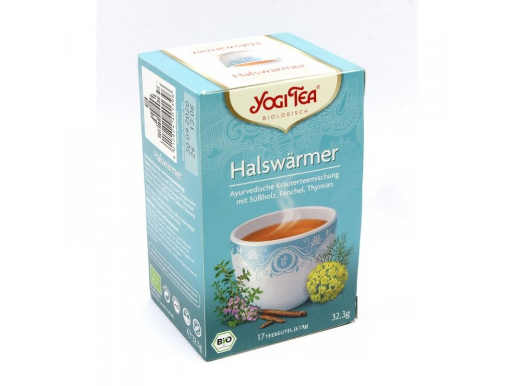 Yogi Tea - Throat Comfort ( krk v pohodě) BIO