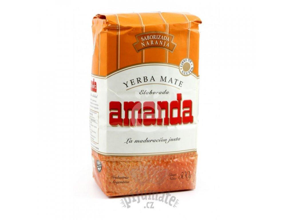 Yerba Maté / Amanda pomeranč - 500 g