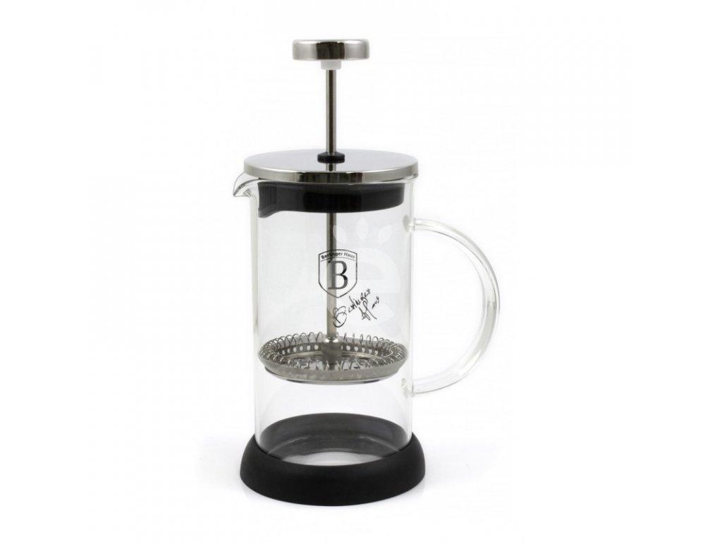French press BH-6301 -stříbrný- 350 ml
