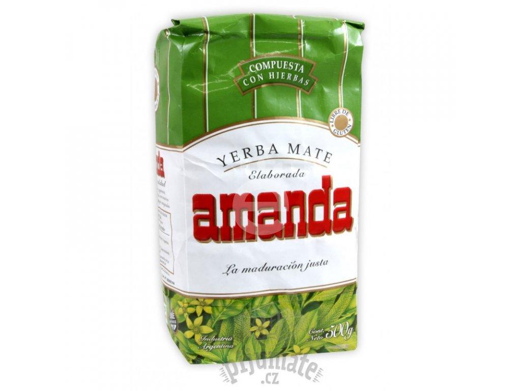 Yerba Maté / Amanda compuesta con hierbas - 500 g