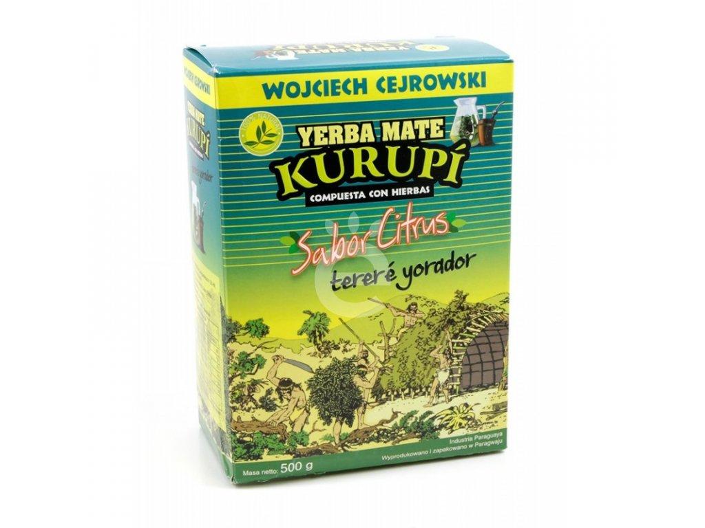 Yerba Maté / Kurupi Sabor Citrus - 500 g