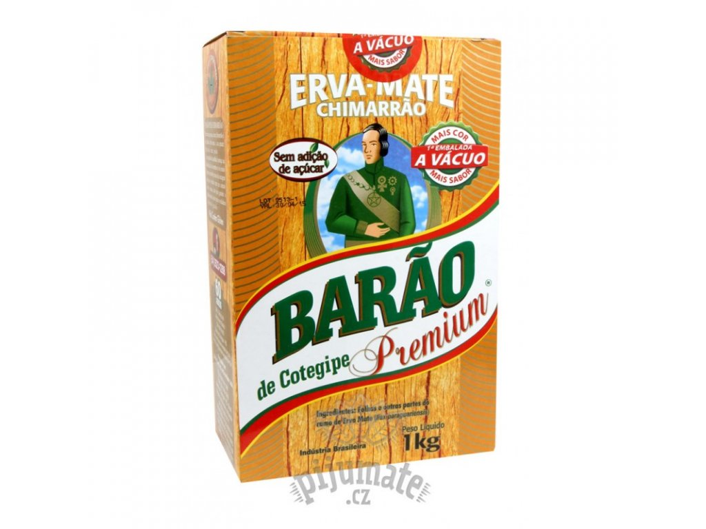 Yerba Maté / Barao de Cotegipe Premium - 1000 g