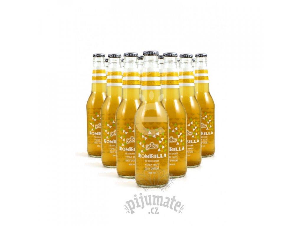 Energetický nápoj Bombilla Yellow -12 Ks (12 x 330 ml)