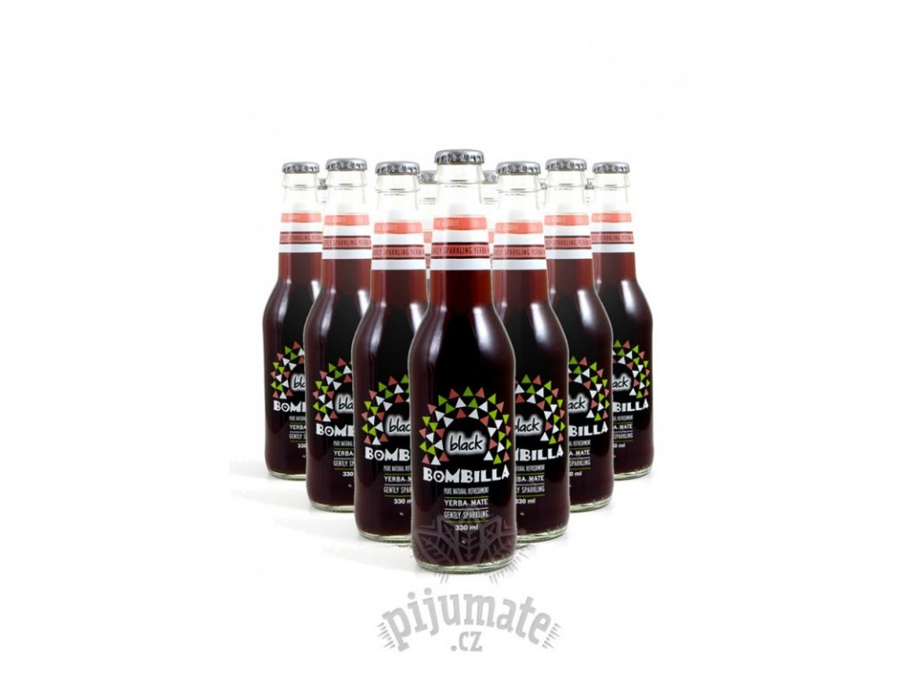 Energetický nápoj Bombilla Black - 12 Ks (12 x 330 ml)