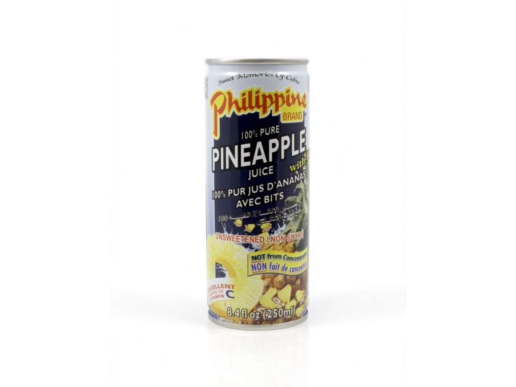 pineapple juice s kousky 250ml