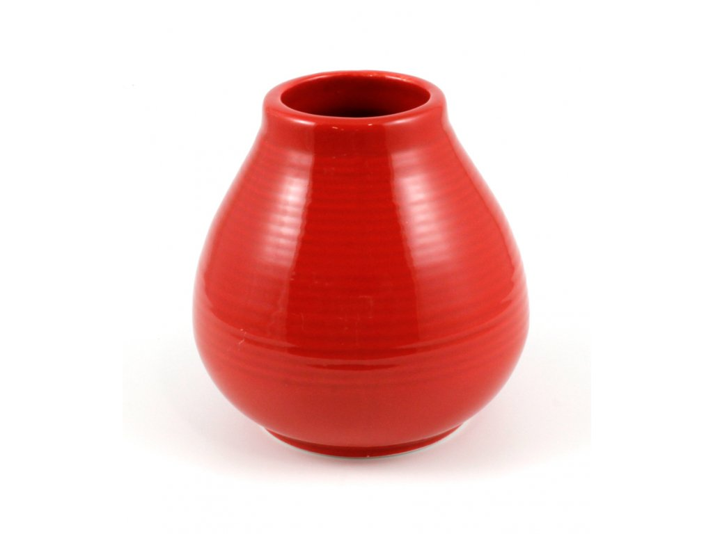 kalabasa keramika cervena vroubky P KA 49