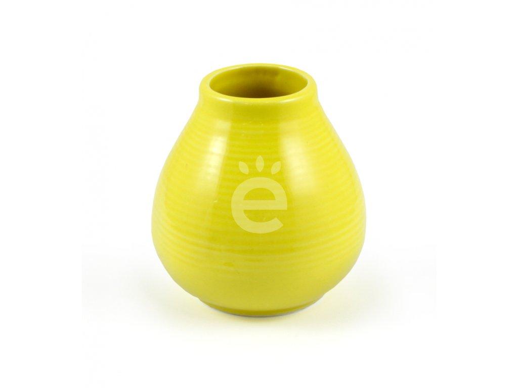 kalabasa keramika zluta vroubky P KA 50