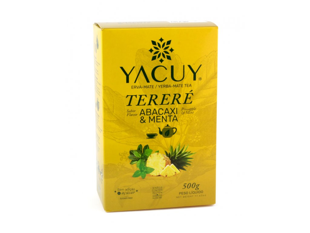 yacuy terere abacaxi menta 500g 01