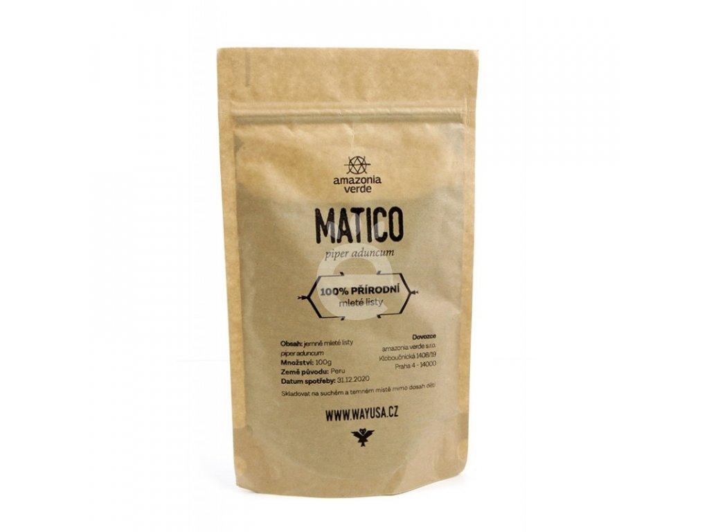 Matico - pepřovník - 100g