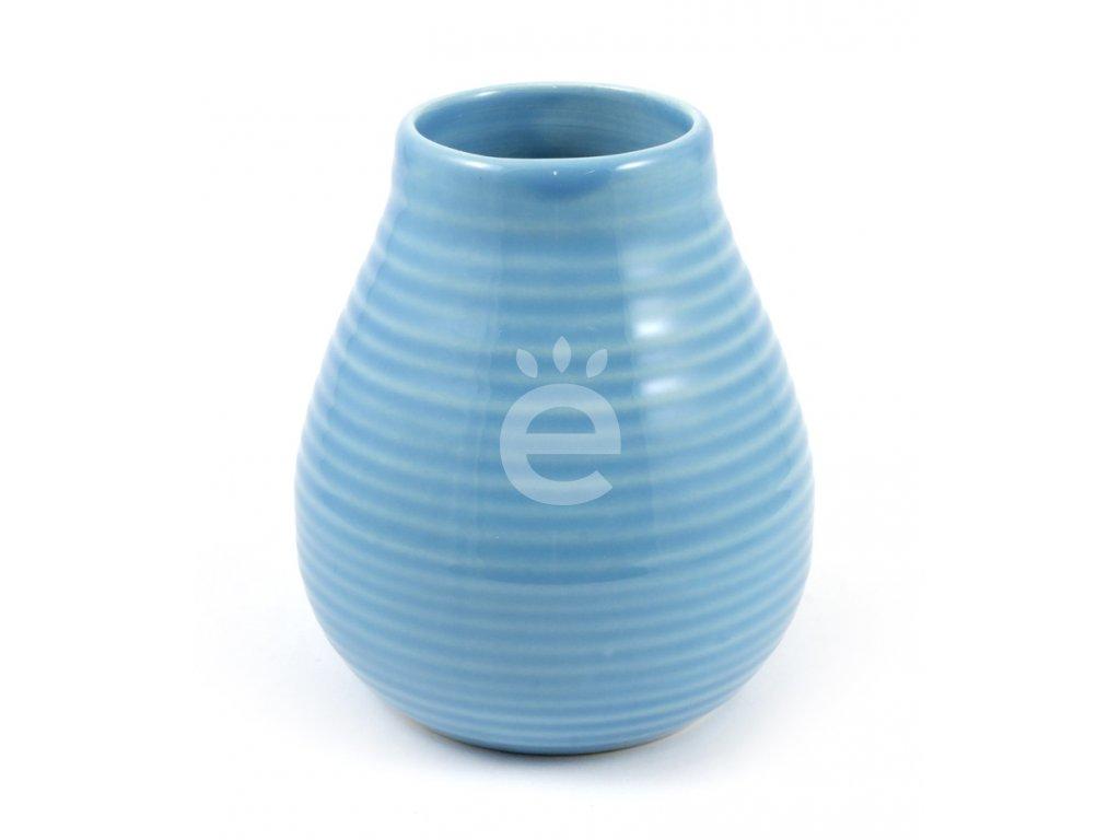 kalabasa keramika vroubkovana azur P KA 70