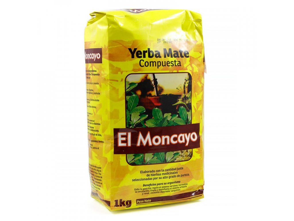 Yerba Maté / El Moncayo compuesta - 100g VZOREK