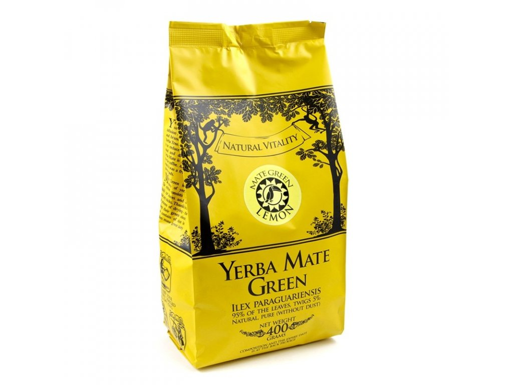 Yerba Maté / Mate green Lemon - 100g VZOREK