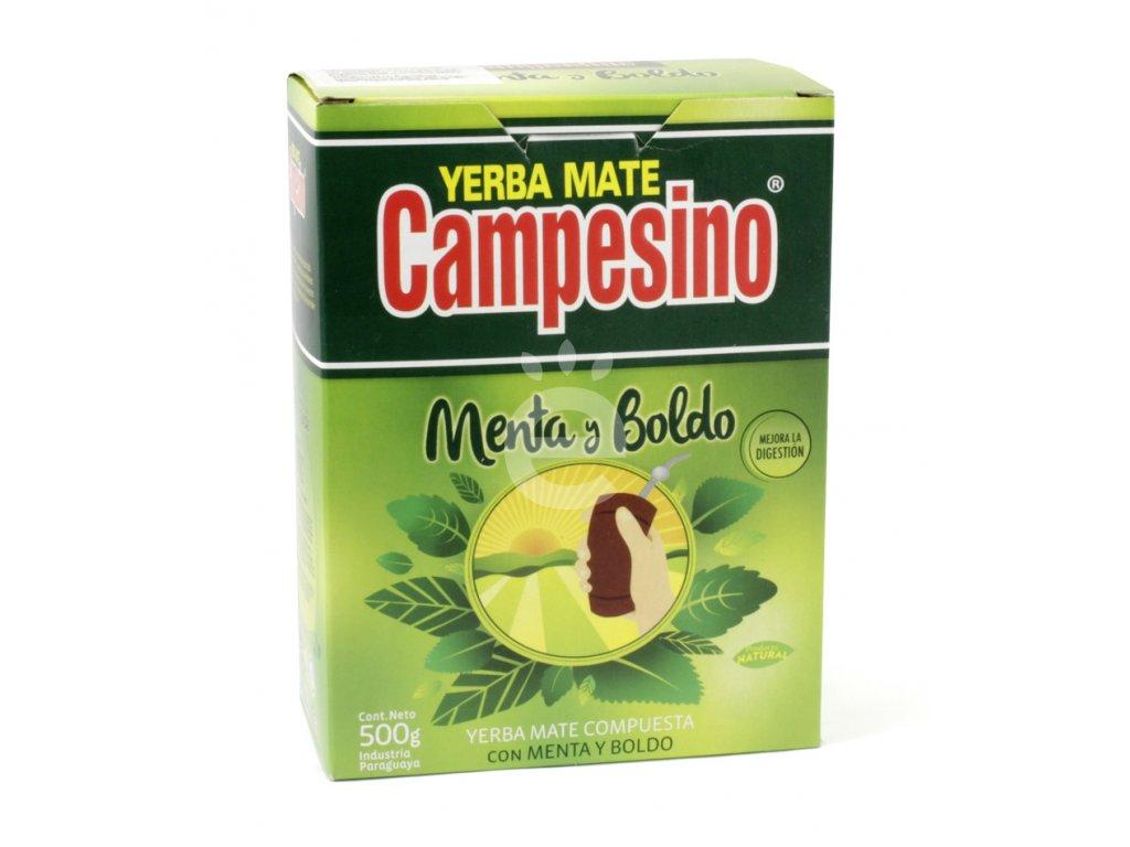 Yerba Maté / Campesino Menta - Boldo - 500 g