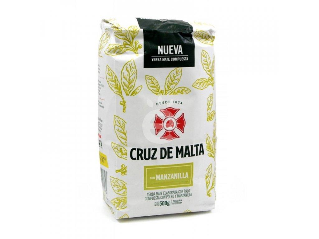 Yerba Maté / Cruz De Malta - Manzanilla - 100g VZOREK