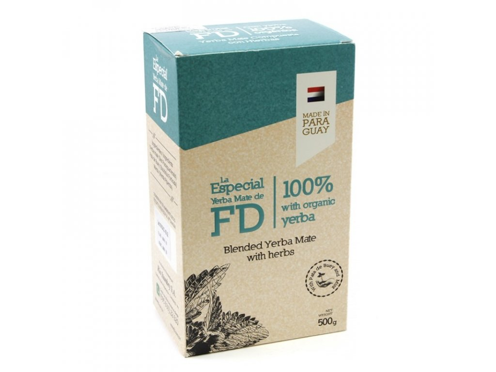 Yerba Maté / Fede Rico Especial organic - bylinné - 500 g
