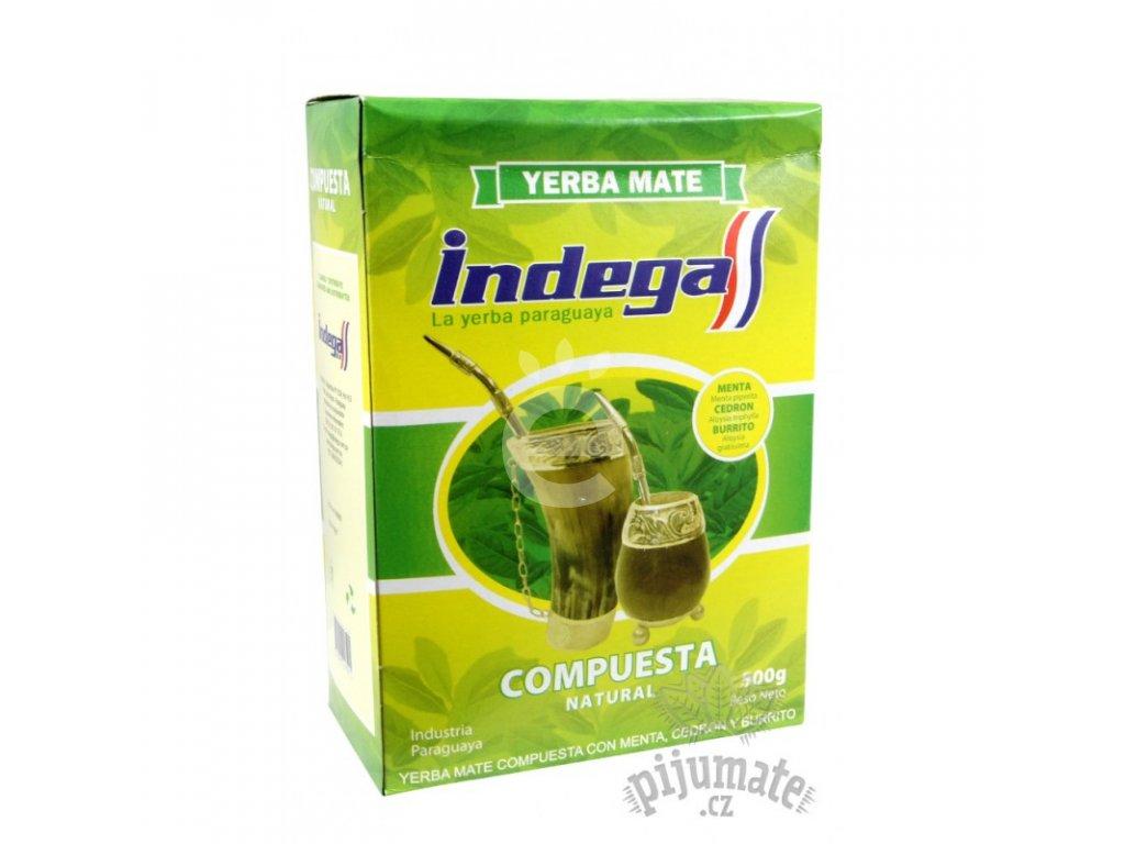 Yerba Maté / Indega compuesta cedron, burrito - 500 g