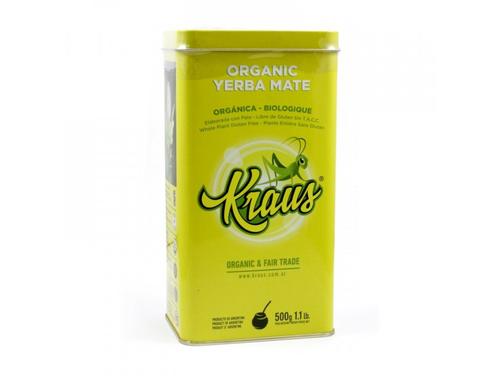 Yerba Maté / Kraus Organic v plechové dóze - 500 g