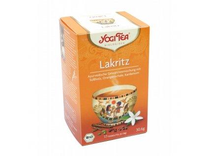Yogi Tea - Liquorice (lékořice) BIO