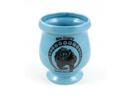 poharek keramika rio negro modra P KA 75