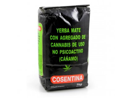 Yerba Maté / Cosentina con Cannabis - 1000g